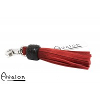 Avalon - PRIDE-  Kort nøkkelringflogger, rød