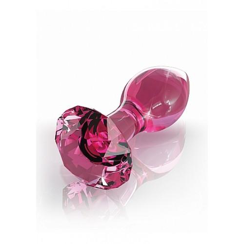 ICICLES No.79 - Rosa Buttplug av Glass