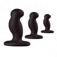 Nexus - Anal Starter Kit - 3pk buttplugs sort