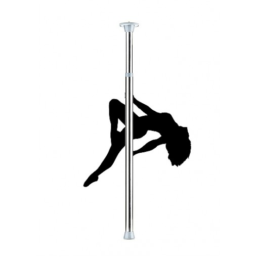 Ouch! Dance Pole - Sølv