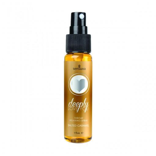 Sensuva - Deep Throat spray - Salted Caramel
